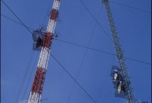 DVP Refurbishes Guyed Transmission Towers